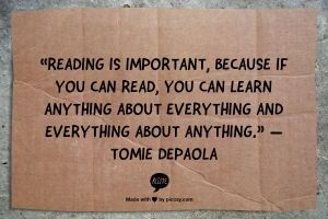 learning everything from reading