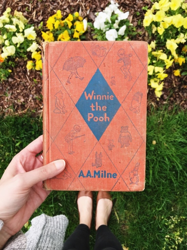 used winnie the pooh book